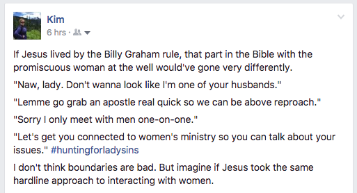 Billy Graham Rule